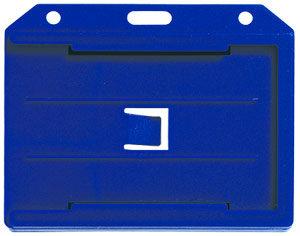 Blue dual side multi crad holder