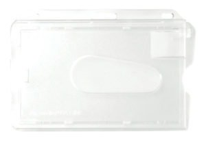 Access card dispenser frosted front and back