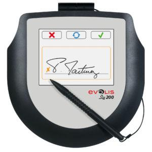 Evolis Sig 200 signature pad