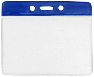 Large colour bar vinyl badge holder
