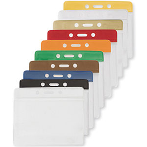 Vinyl Plastic Badge Holders