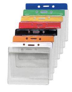 Extra large colour bar vinyl badge holder