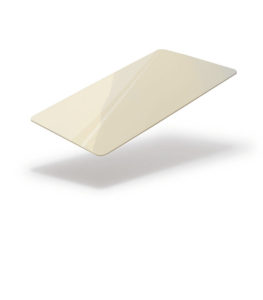 Cream blank card