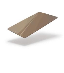 Dark gold metallic cards