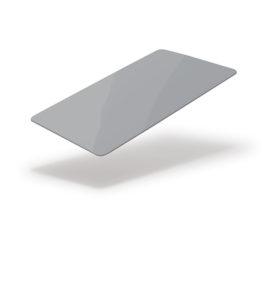 grey blank card
