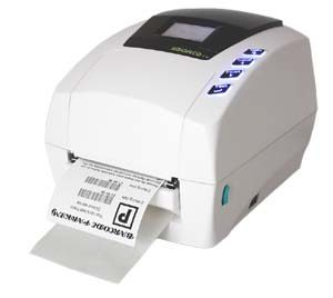 Sbarco label printer with label out